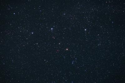 Cassiopeia Constellation-John Sanford-Photographic Print