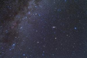 Cassiopeia, Perseus and Andromeda Area of the Northern Autumn Sky