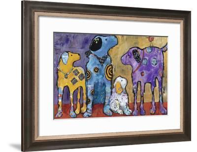Cast of Characters-Jenny Foster-Framed Giclee Print
