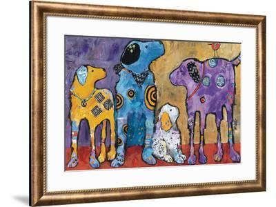 Cast of Characters-Jenny Foster-Framed Art Print