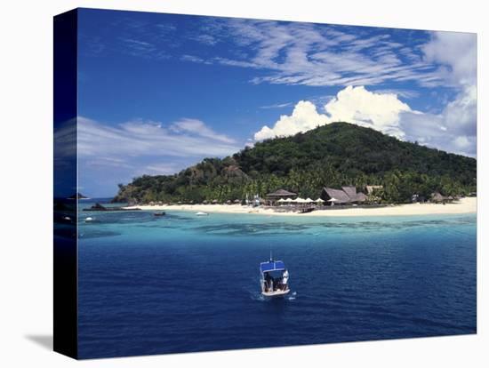 Castaway Island Resort, Mamanuca Islands, Fiji-David Wall-Stretched Canvas Print