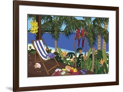 Castaway Paradise-Cindy Wider-Framed Giclee Print