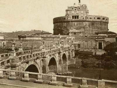 Caste of St. Angelo-Giacomo Brogi-Photographic Print