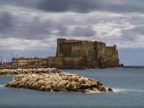Castel dell'Ovo in Naples-enricocacciafotografie-Photographic Print