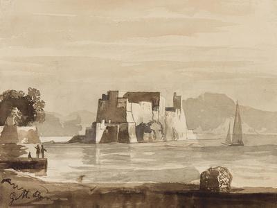 Castel Dell'Ovo-Achille Vianelli-Giclee Print