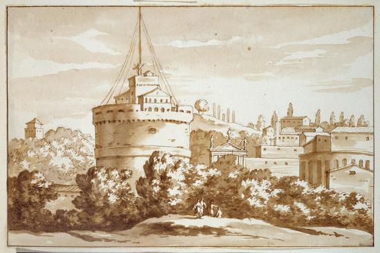 Castello St Angelo, 1688-Jacob van der Ulft-Giclee Print