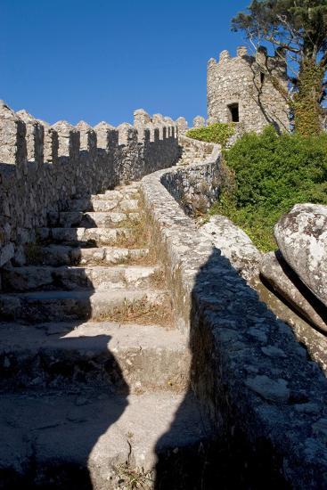 Castelo Dos Mouros, Sintra, Portugal-Susan Degginger-Photographic Print