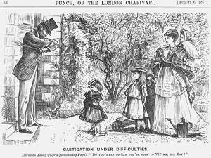 Castigation under Difficulties, 1870
