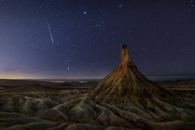 Castil after Sunset-Inigo Cia-Photographic Print
