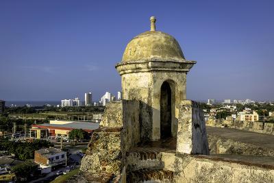 Castillo de San Felipe de Barajas, Cartagena, Colombia-Jerry Ginsberg-Photographic Print
