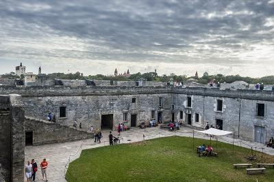 Castillo De San Marcos, Oldest Continuously Occupied European-Established Settlement, Florida-Michael Runkel-Photographic Print