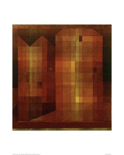 Castle 1-Paul Klee-Giclee Print