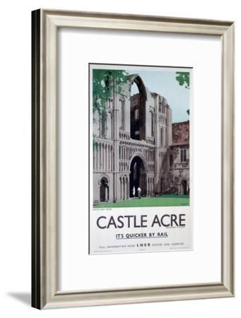 Castle Acre--Framed Art Print