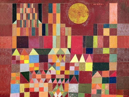 Castle and Sun-Paul Klee-Giclee Print