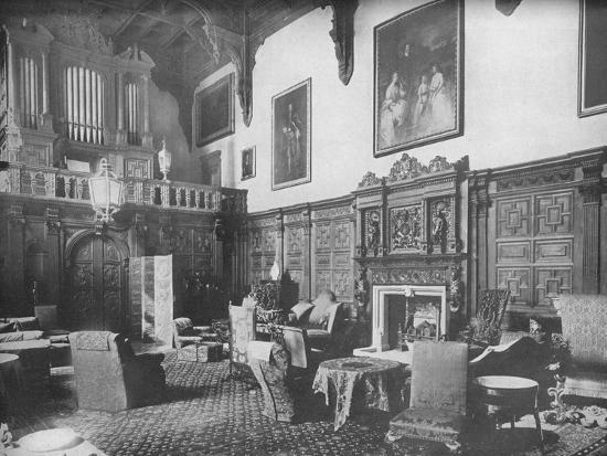 'Castle Ashby, Northamptonshire - The Marquis of Northampton, K.G.', 1910-Unknown-Photographic Print