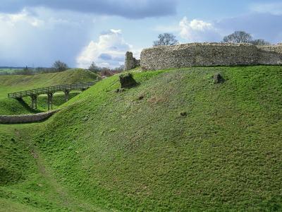 Castle at Castle Acre, Norfolk, England, United Kingdom, Europe-Pate Jenny-Photographic Print