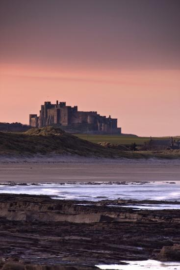 Castle at Dusk; Northumberland, England, Uk-Design Pics Inc-Photographic Print