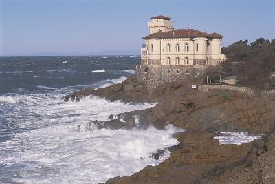 Castle at the Coast, Boccale Castle, Livorno, Tuscany, Italy--Giclee Print