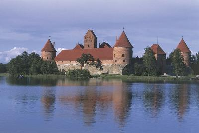 Castle at the Lakeside--Photographic Print