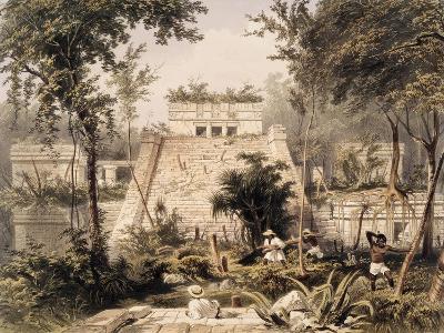 Castle at Tulumc-Frederick Catherwood-Giclee Print