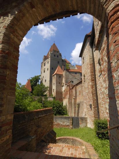 Castle Burg Trausnitz, Landshut, Bavaria, Germany, Europe-Gary Cook-Photographic Print