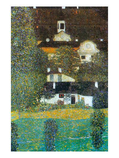 Castle Chamber at Attersee Ii-Gustav Klimt-Art Print