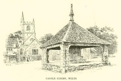 Castle Combe, Wilts-Alfred Robert Quinton-Giclee Print