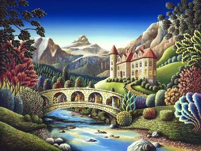 Castle Creek-Andy Russell-Art Print
