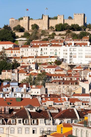 Castle De Sao Jorge, Lisbon Portugal-Susan Degginger-Photographic Print