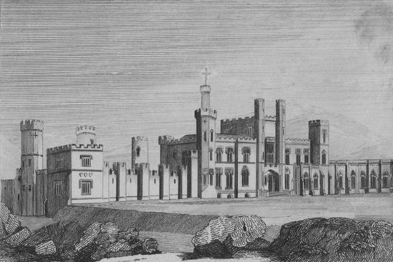 'Castle Freke, the Seat of John Evans Freke, Lord Carbery', c1820-Unknown-Giclee Print