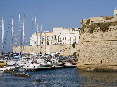 Castle, Gallipoli, Lecce Province, Puglia, Italy, Europe-Marco Cristofori-Photographic Print