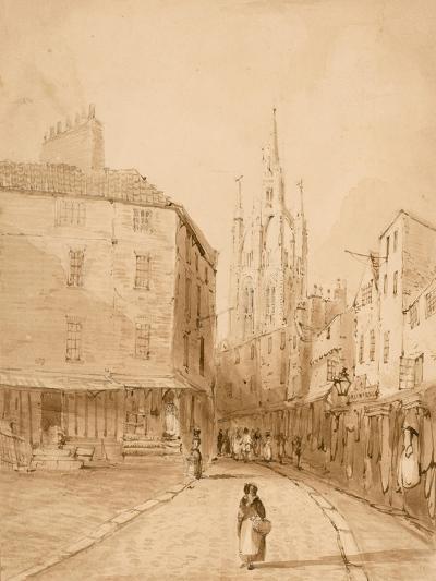 Castle Garth, Newcastle Upon Tyne-Thomas Miles Richardson-Giclee Print