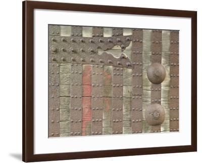 Castle Gate Detail, Kanazawa, Ishikawa, Japan-Rob Tilley-Framed Photographic Print