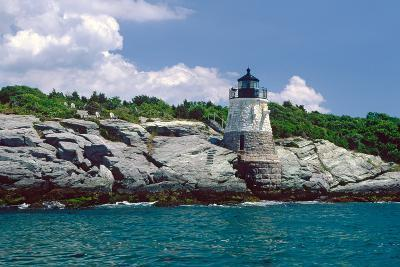Castle Hill Lighthouse, Newport, RI-George Oze-Photographic Print