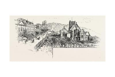 Castle Hill, Scarborough, with the Church--Giclee Print