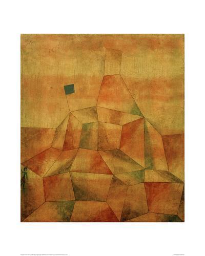 Castle Hill-Paul Klee-Giclee Print
