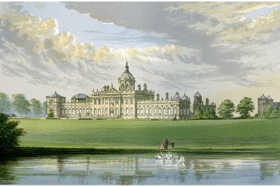 Castle Howard, Yorkshire, Home of the Earl of Carlisle, C1880-AF Lydon-Giclee Print
