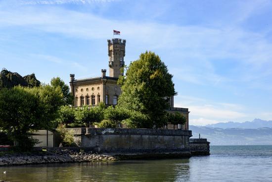 Castle Montfort, Langenargen, Lake of Constance, Baden-Wurttemberg, Germany-Ernst Wrba-Photographic Print