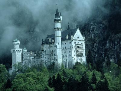 Castle, Neuschwanstein, Germany-Arnie Rosner-Photographic Print