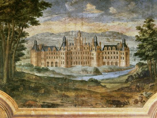 Castle of Chambord--Giclee Print