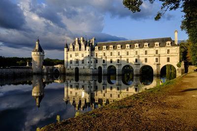 Castle of Chenonceau, Indre Et Loire-Nathalie Cuvelier-Photographic Print