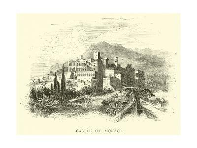 Castle of Monaco--Giclee Print