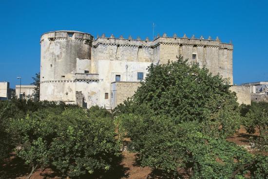 Castle of Morciano Di Leuca, Lecce, Apulia, Italy--Giclee Print