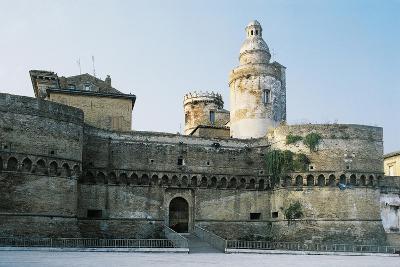 Castle of Vasto, Chieti, 1439, Abruzzo, Italy--Giclee Print