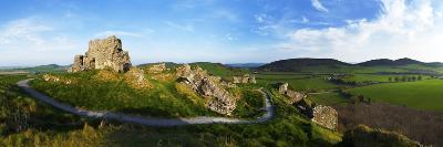 Castle on a Hill, Dunamase Castle, Port Laoise, County Laois, Republic of Ireland--Photographic Print