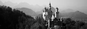 Castle on a Hill, Neuschwanstein Castle, Bavaria, Germany