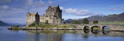 Castle on an Island, Eilean Donan, Loch Duich, Dornie, Highlands Region, Scotland--Photographic Print