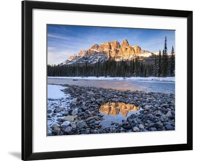 Castle Peaks-Michael Blanchette Photography-Framed Giclee Print