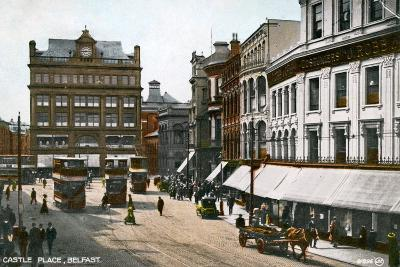 Castle Place, Belfast, Early 20th Century--Giclee Print