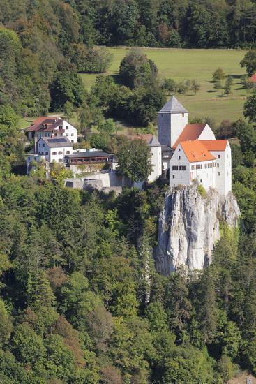 Castle Prunn Near Riedenburg, Nature Reserve Altmuehl Valley, Germany-Markus Lange-Photographic Print